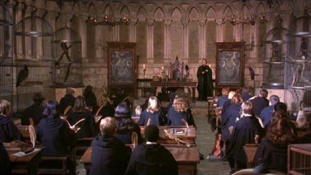 Professor McGonagall's classroom in real life!