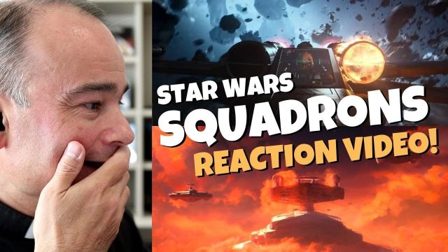 Star Wars Squadrons Trailer Reaction
