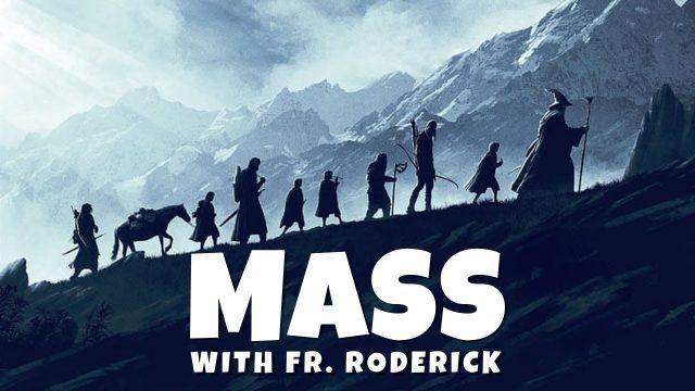 Pentecost Mass with Father Roderick